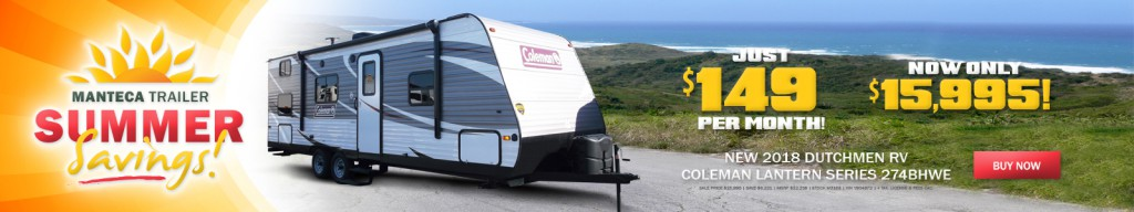 coleman rv for sale